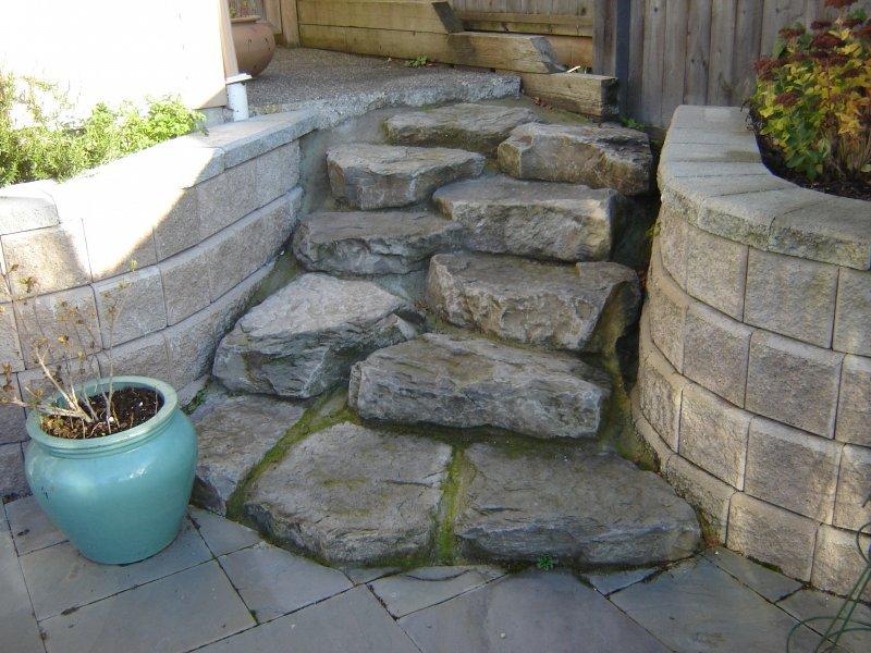 basalt steps